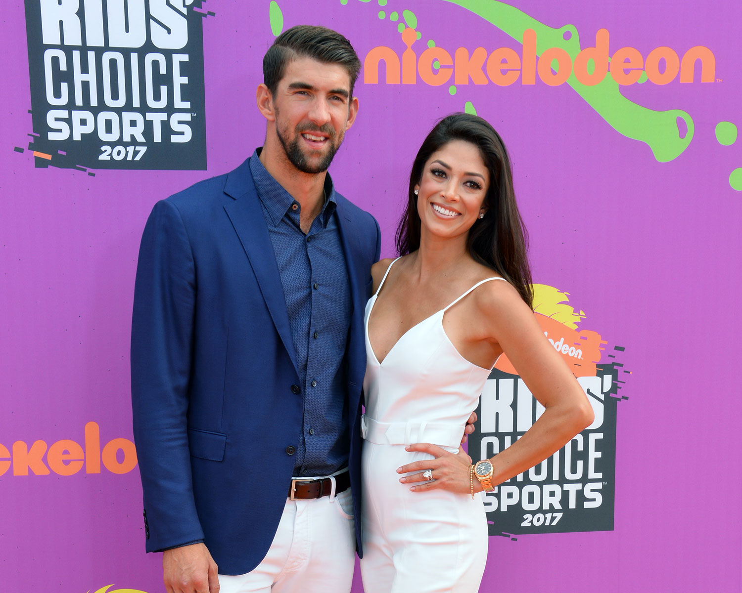 Nicole And Michael Phelps Relived Their Wedding For