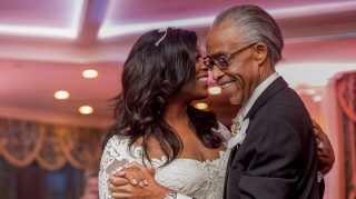 al sharpton daughter wedding photos