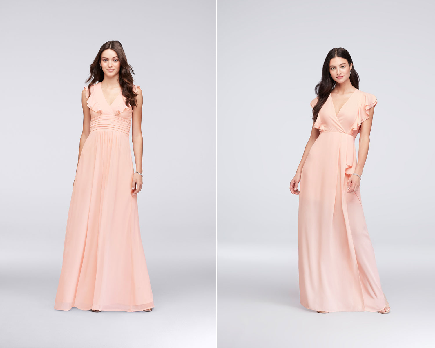 Peach bridesmaid dresses under 100 image collections for Maternity wedding dresses under 100