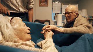 couple anniversary tender moment