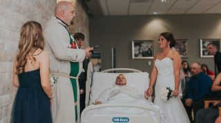 hospital wedding exclusive