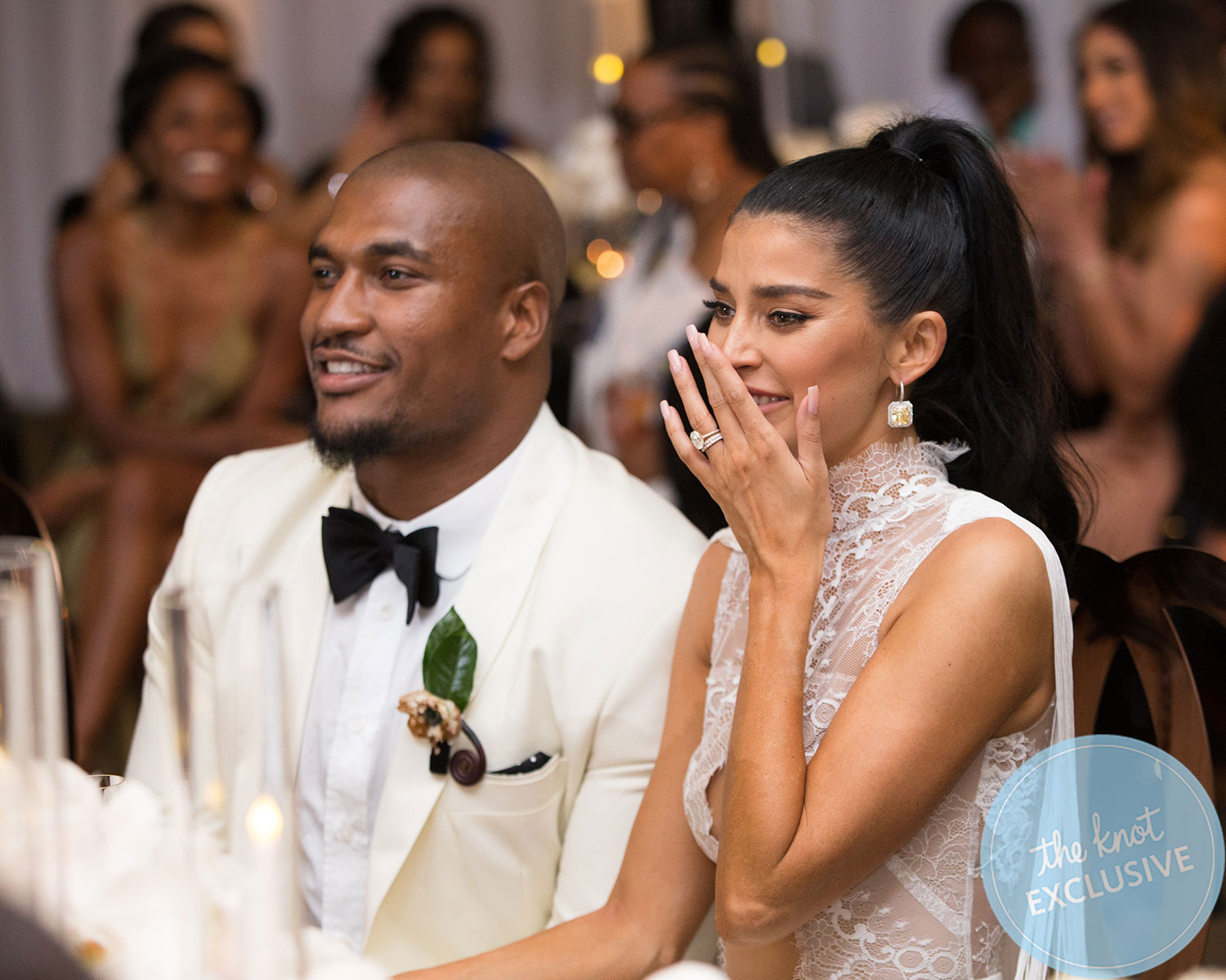 Nicole Williams WAGS wedding album exclusive