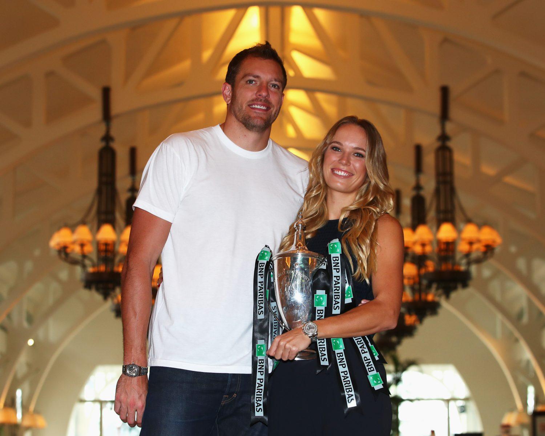 Tennis Champion Caroline Wozniacki Shares the First Photo From Her Wedding to David Lee