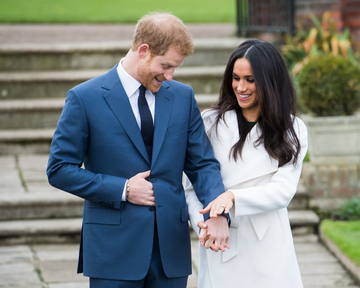 Prince harry Meghan Markle photo call engagement