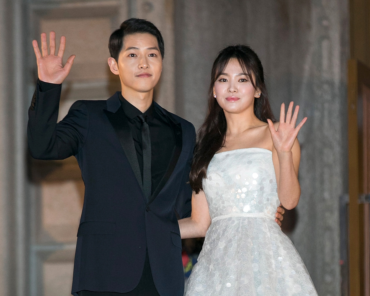 Korean Stars Marry In Basically The Royal Wedding Of Asia