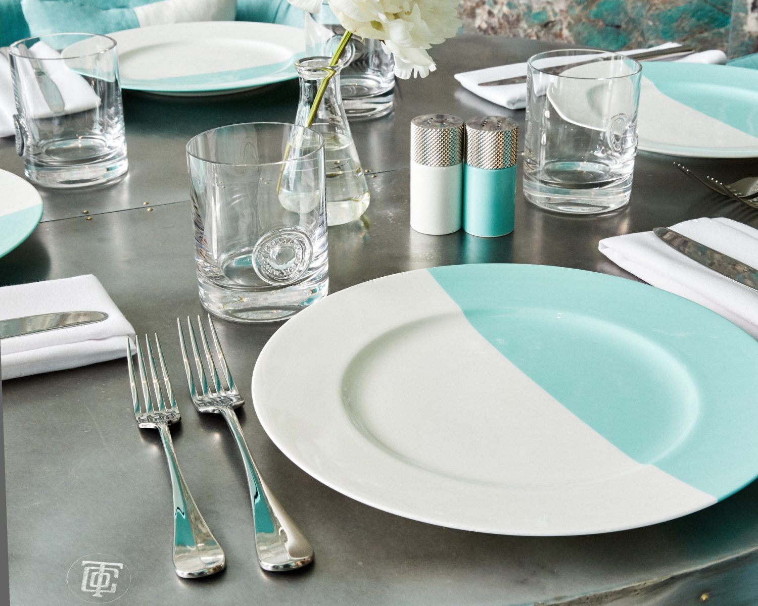 Tiffany & co blue box cafe bridal shower