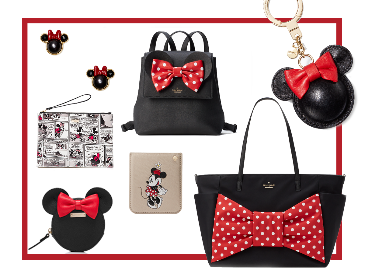 Kate Spade S Minnie Mouse Line Is Perfect For Your Bridesmaids