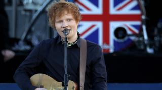 Ed Sheeran Meghan Markle Prince Harry wedding
