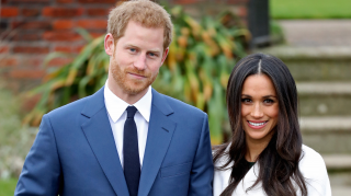 Markle Harry wedding dress predictions designers the knot