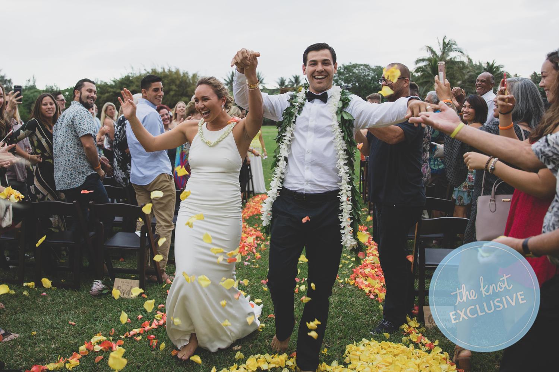 Carissa Moore wedding photos