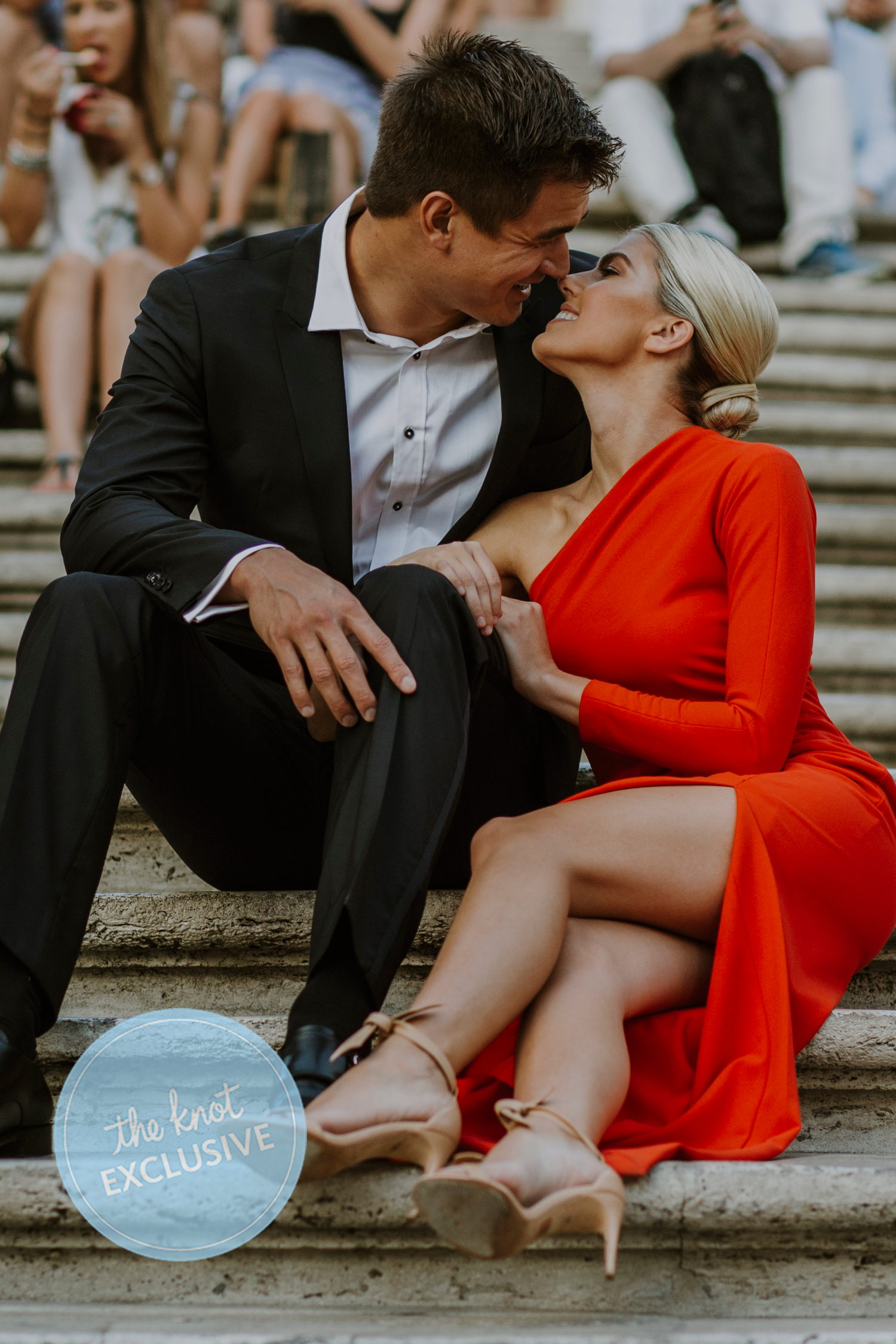 Nathan Adrian and Hallie Ivester engagement photos