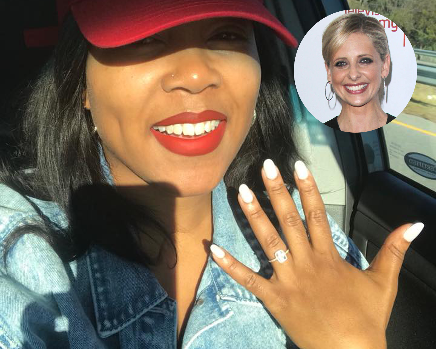 Sarah Michelle Gellar proposal
