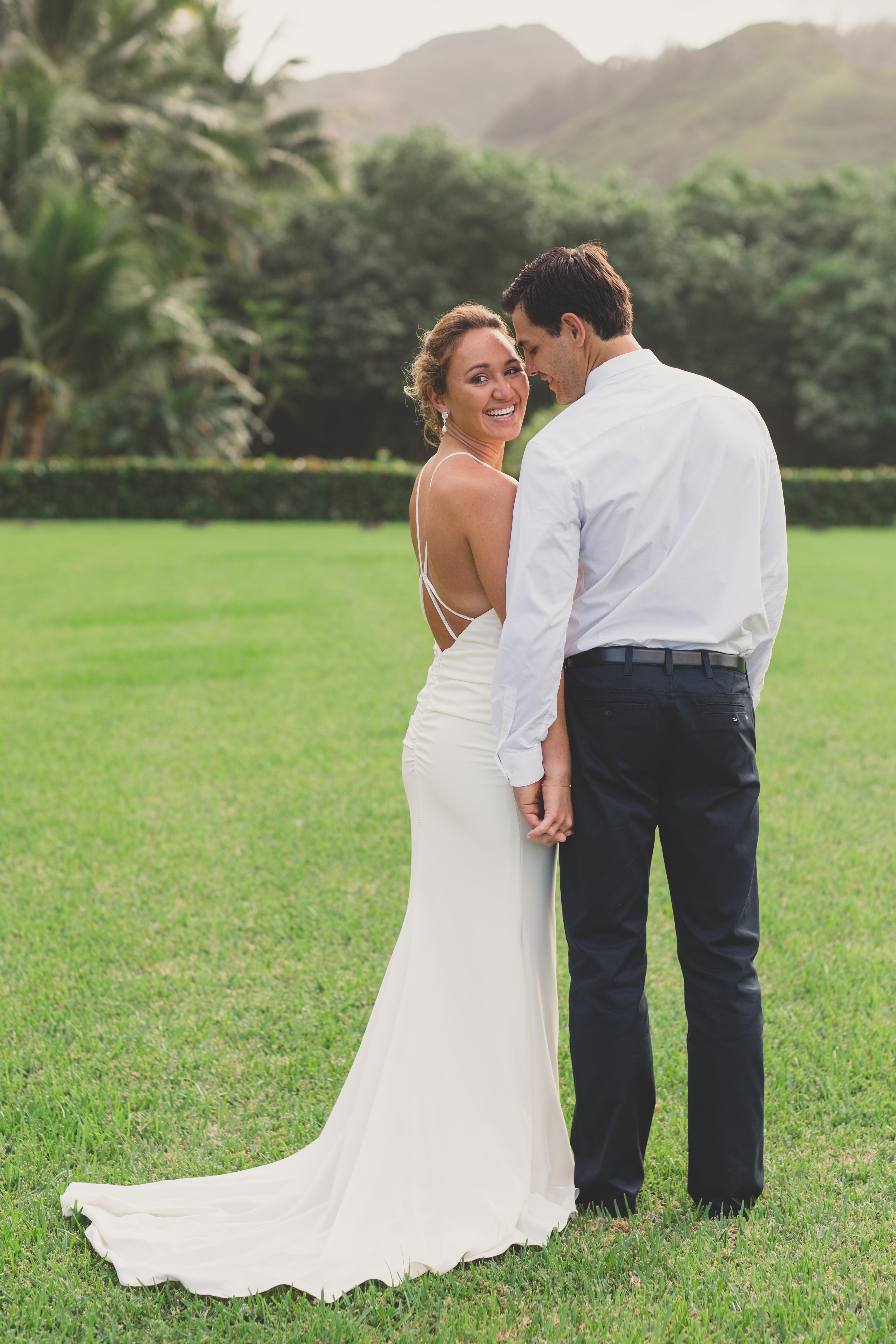 Carissa Moore Reveals Her Backyard Oahu Wedding Album