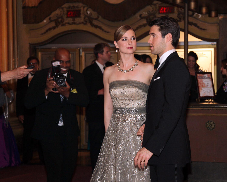 Emily Vancamp And Joshua Bowman Wedding