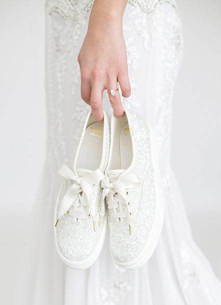 ff8293df47 Keds and Kate Spade Just Launched a Wedding Sneaker Collection
