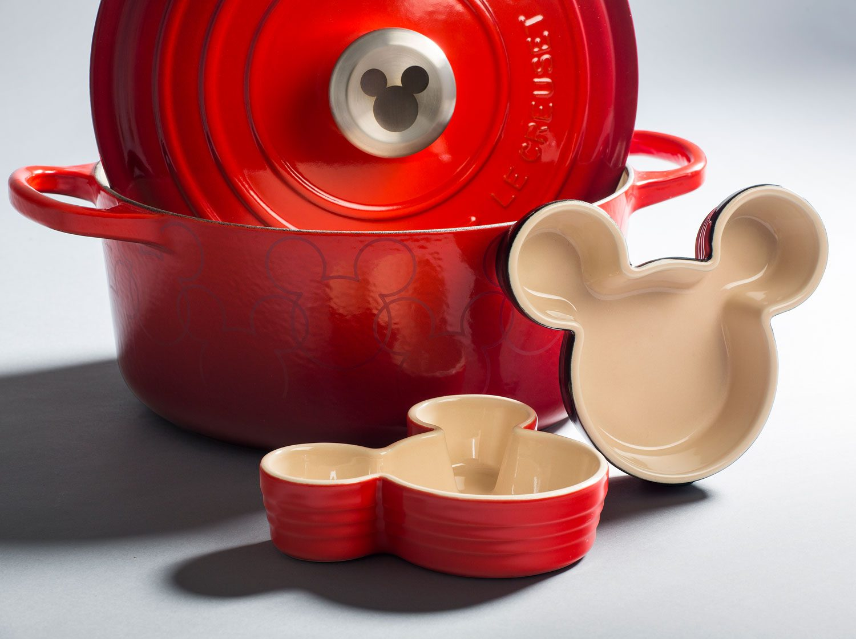 Mickey Disney Le Creuset collaboration registry