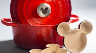 Mickey Disney Le Creuset collaboration registry