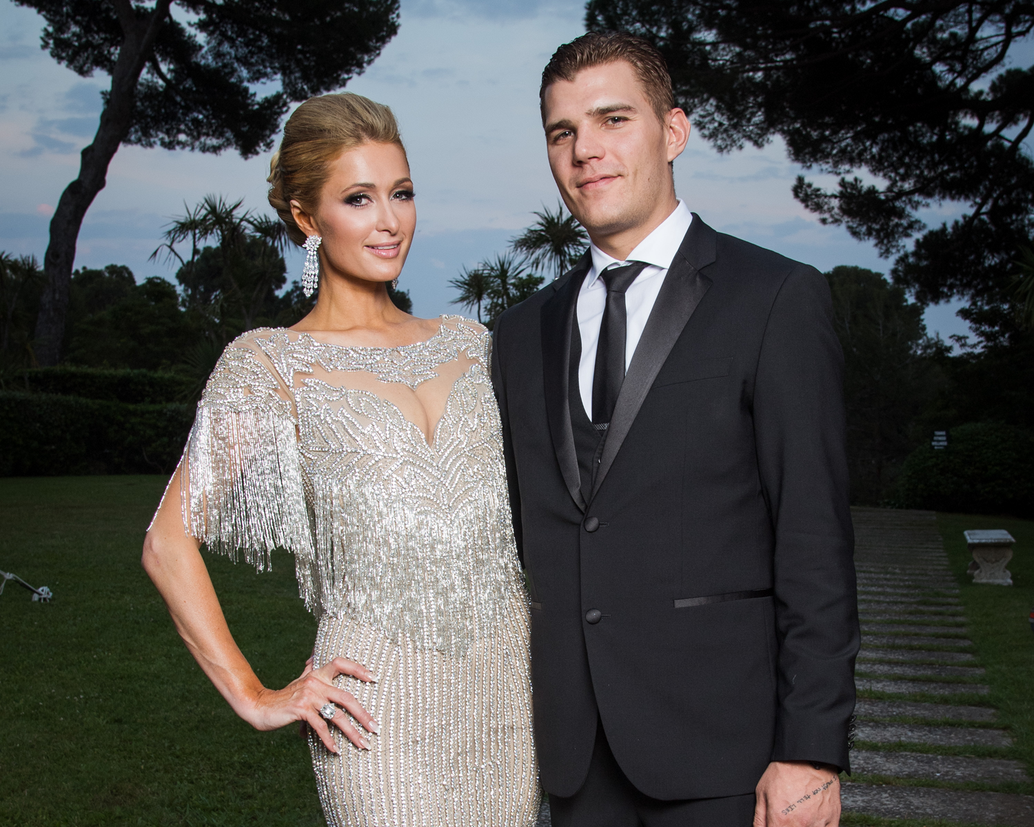 Paris Hilton Chris Zylka