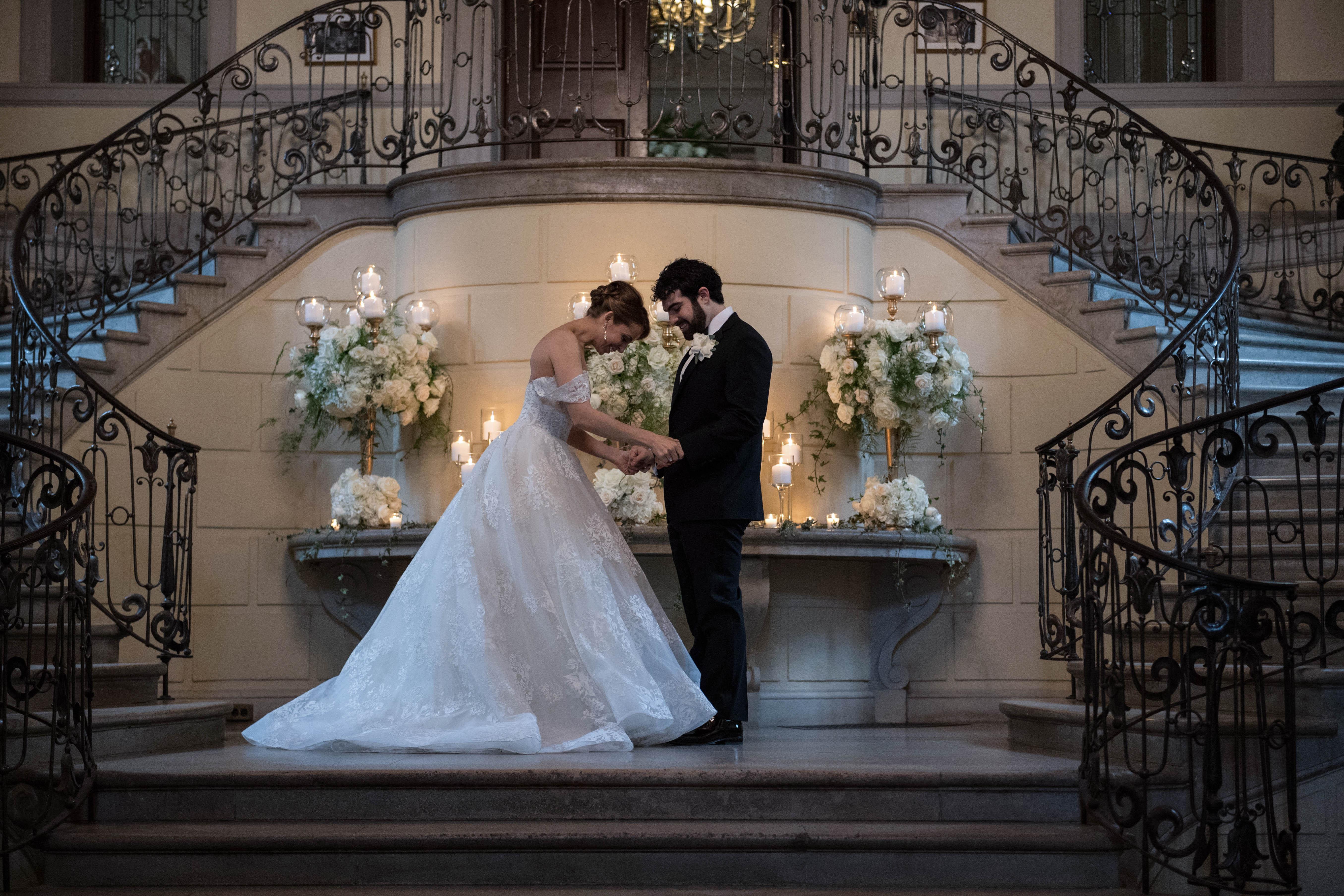 Jedediah Bila Wedding