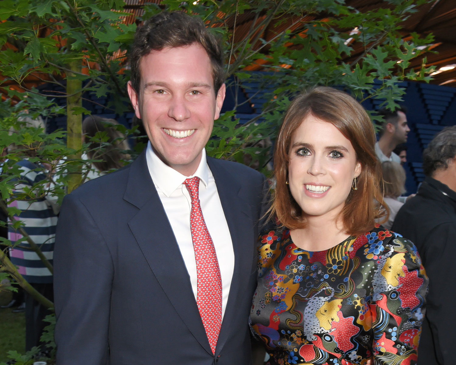 princess eugenie jack brooksbank wedding date