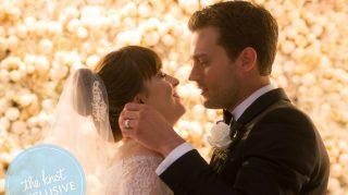 Fifty Shades Wedding Album Christian Ana wedding