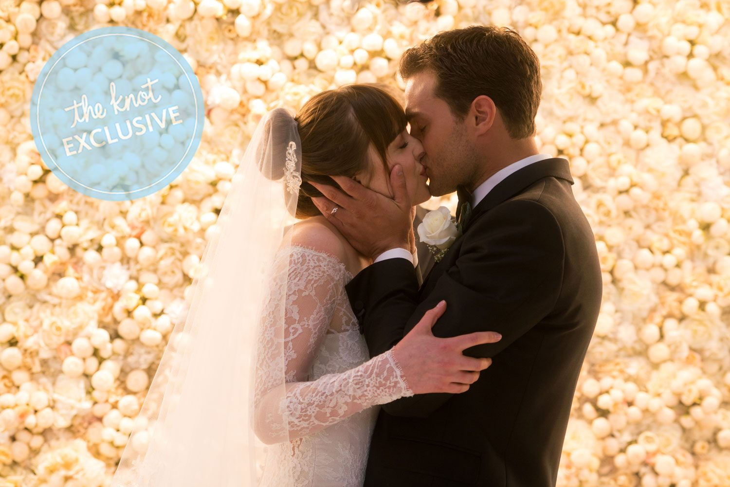 Fifty Shades Wedding Album Christian Ana wedding