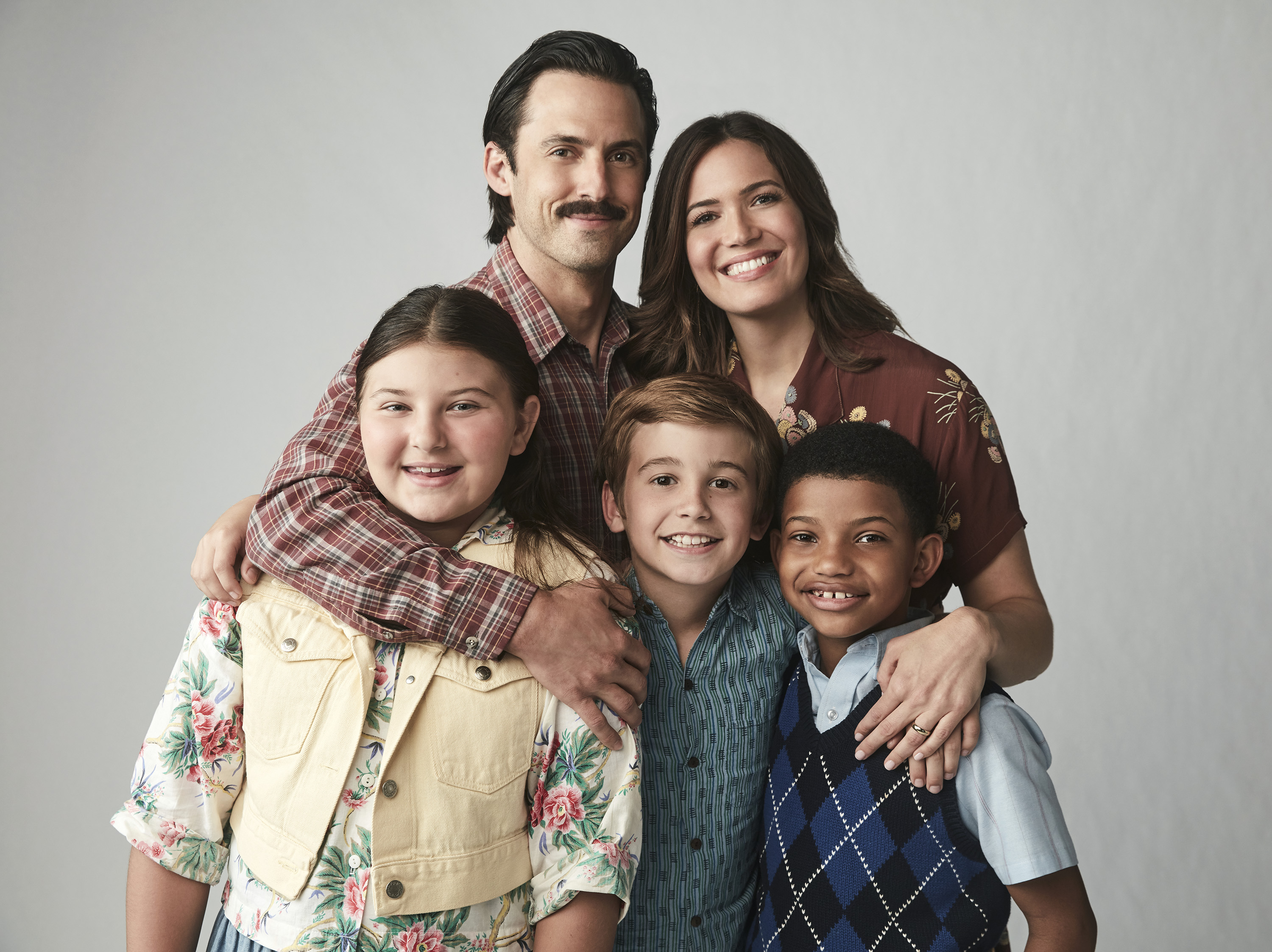 This Is Us Season 2 Pictured L R Milo Ventimiglia As Jack Mandy Moore Rebecca Mackenzie Hancsicsak Kate Parker Bates Kevin
