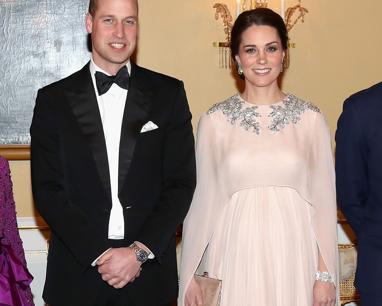 Kate Middleton Wore Her Wedding Dress Designer for Black-Tie Dinner