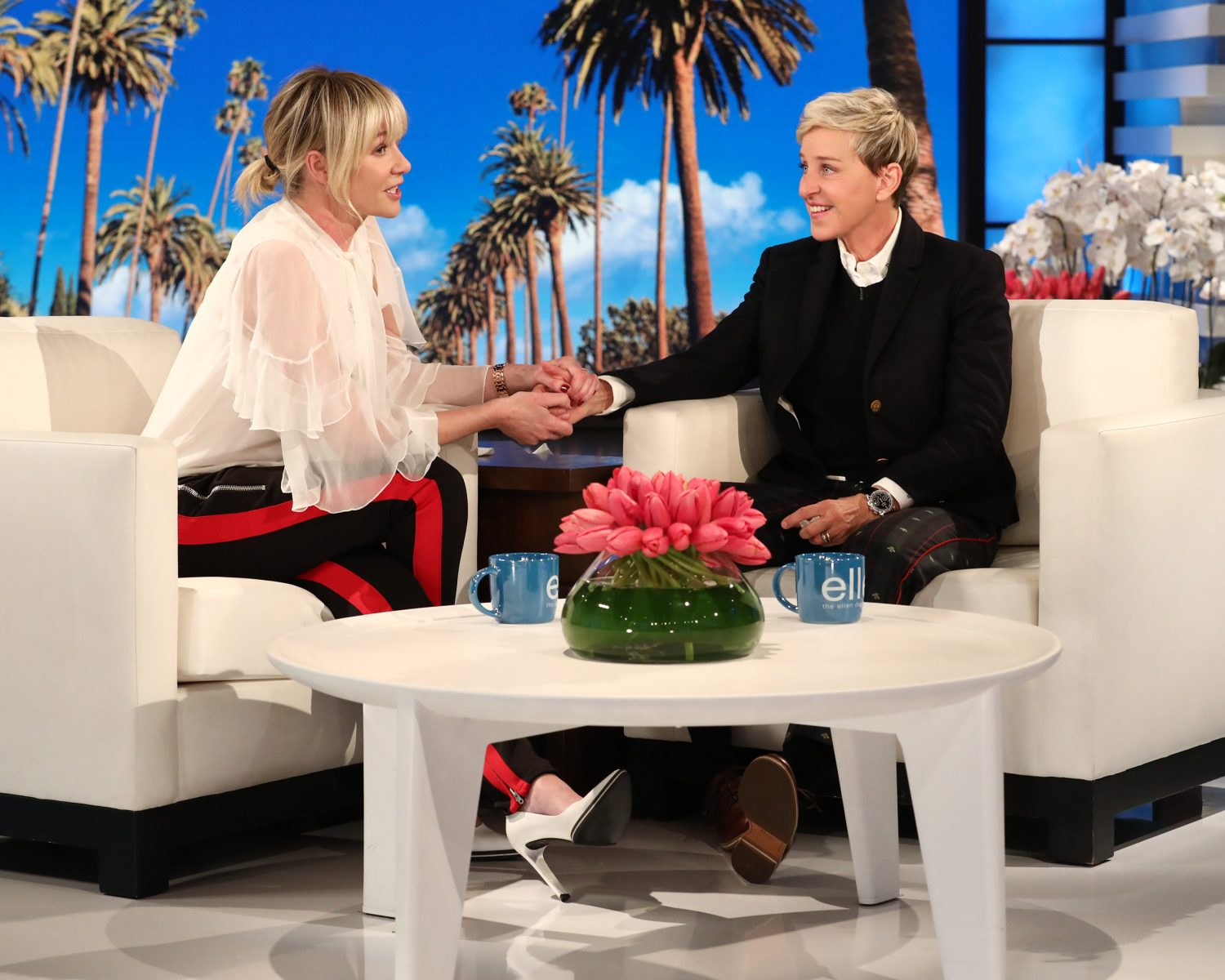 Astonishing Portia De Rossi Just Gave Ellen Degeneres The Most Ocoug Best Dining Table And Chair Ideas Images Ocougorg