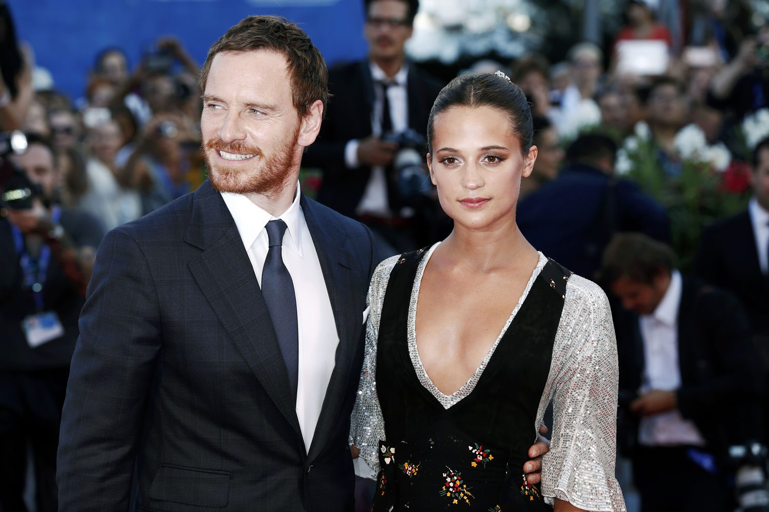 Alicia Vikander and Michael Fassbender from The Big ...  |Alicia Vikander Michael Fassbender