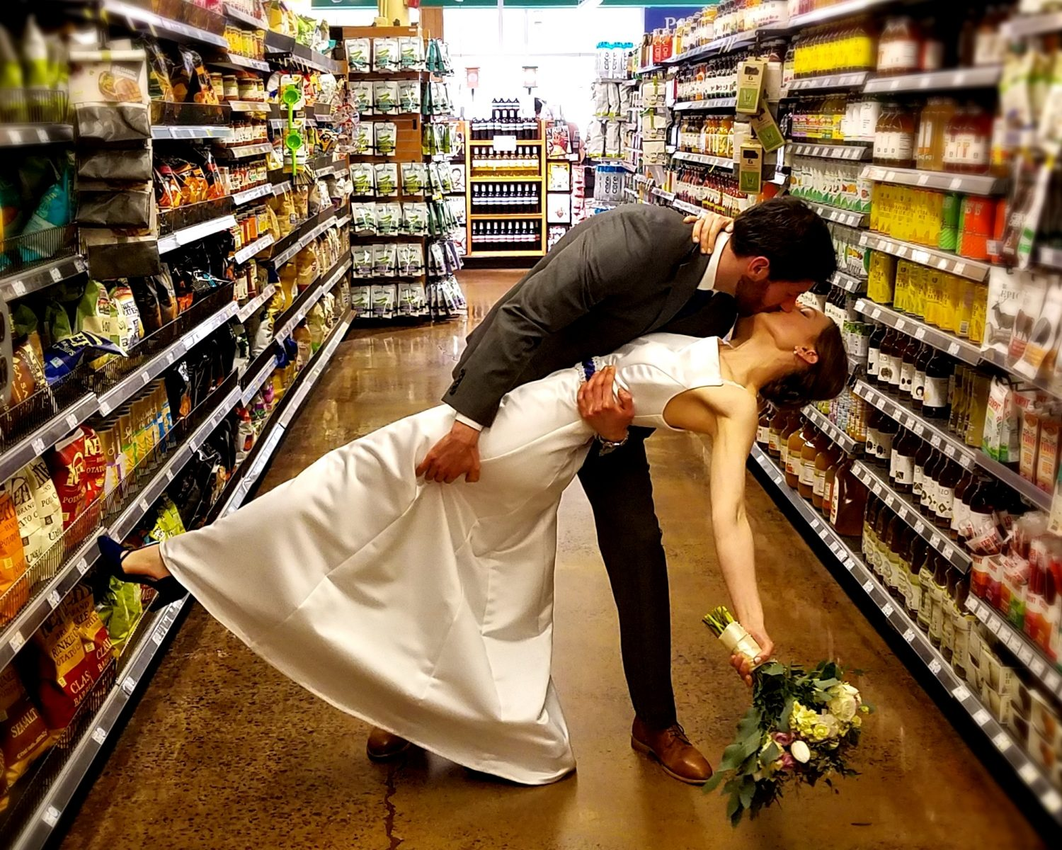 Whole Foods Wedding Couple Marries Because Organic Love