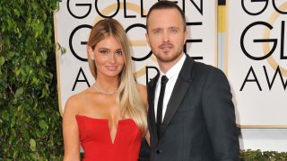 Aaron Paul lauren Paul