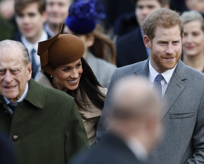 Prince Philip meghan markle prince harry