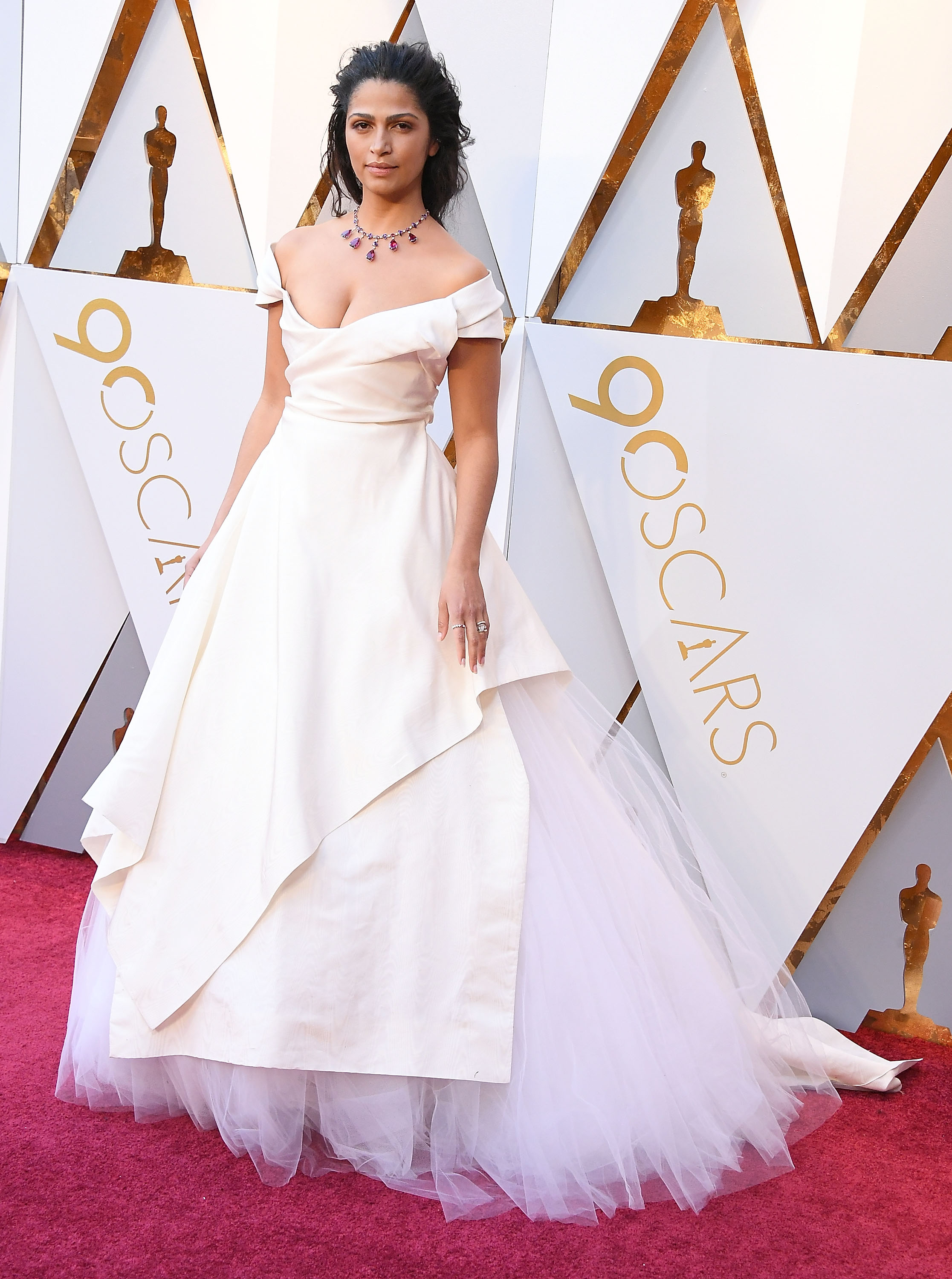 05571913bb70 HOLLYWOOD, CA – MARCH 04: Camila Alves arrives at the 90th Annual Academy  Awards at Hollywood & Highland Center on March 4, 2018 in Hollywood,  California.