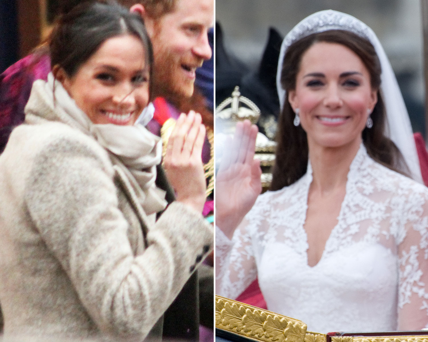 meghan markle won t wear the same tiara as kate middleton here s why meghan markle won t wear the same tiara