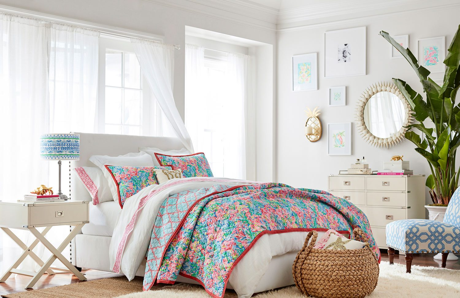 Lilly Pulitzer And Pottery Barn S Collaboration Is Here