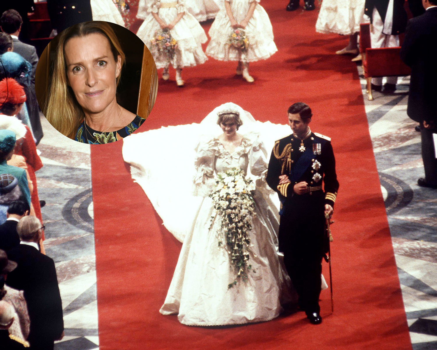 india hicks bridesmaid princess diana wedding