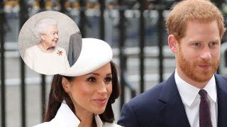 Harry meghan queen