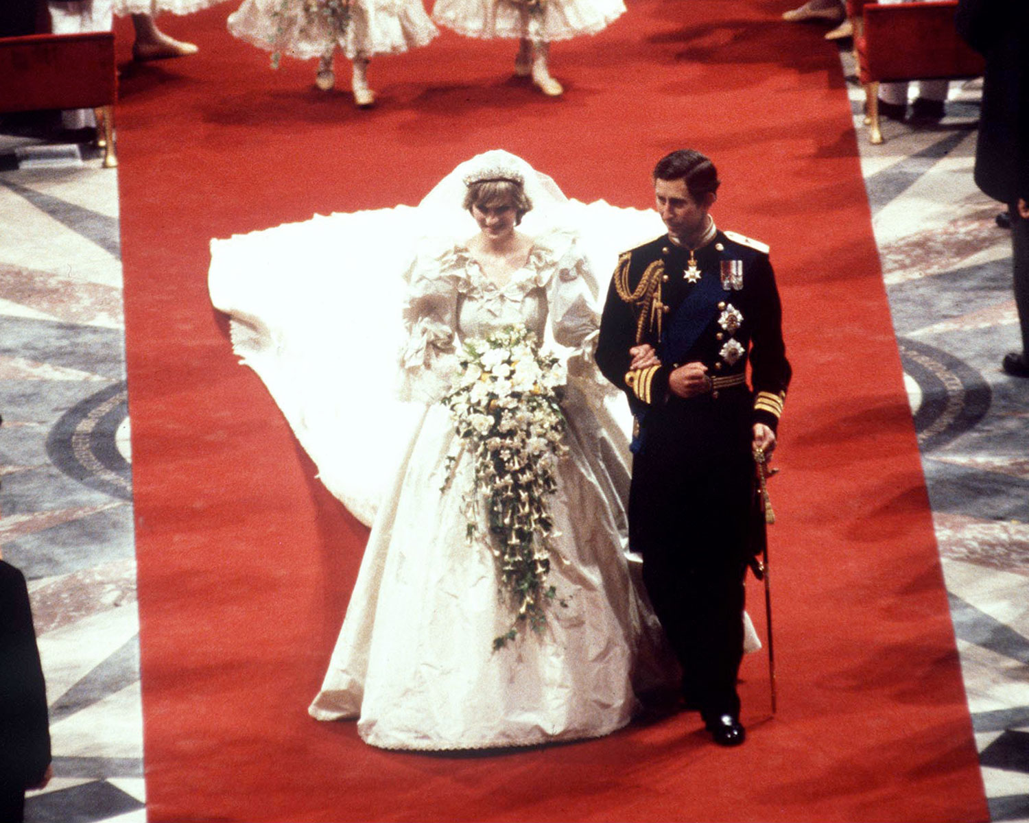 Diana And Charles Wedding.Royal Wedding Princess Diana Charles 1500 The Knot News