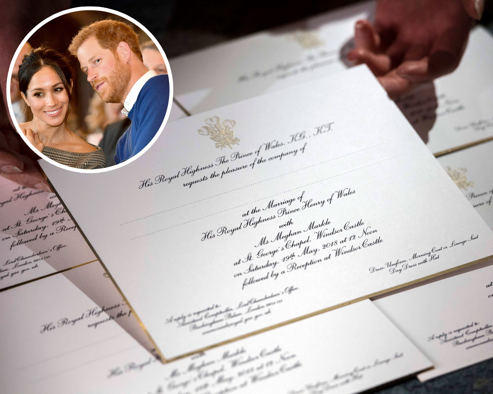 Meghan Markle And Prince Harry's Wedding Invitation Is