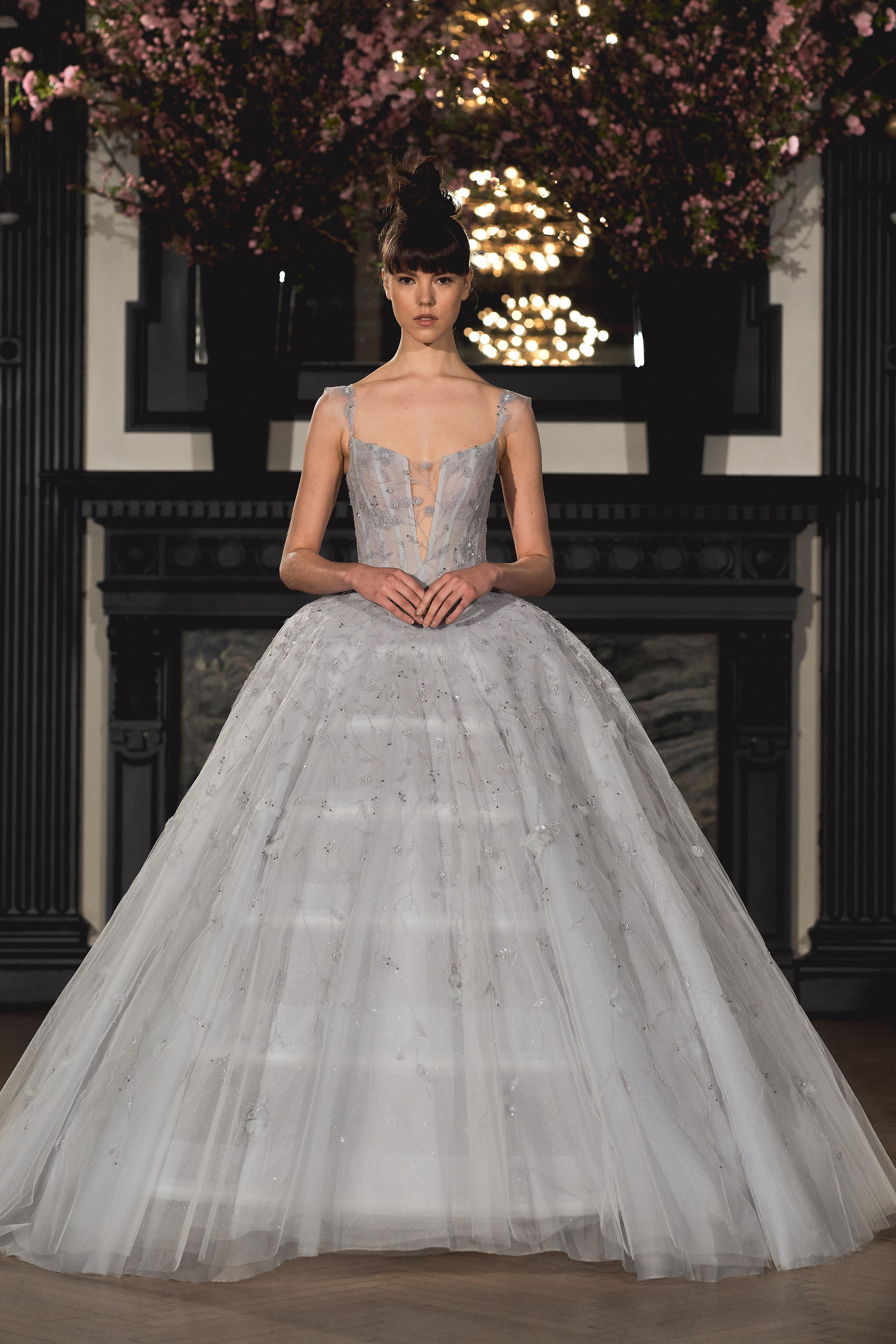 ines di santo pick meghan markle wedding dress