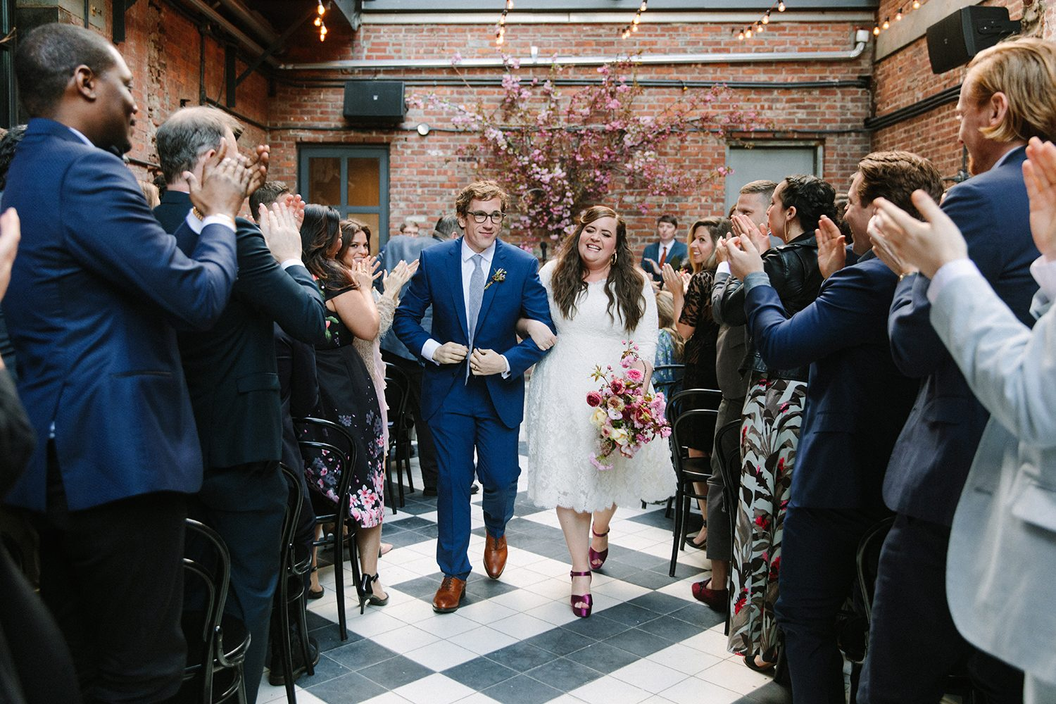 Aidy Bryant wedding photo