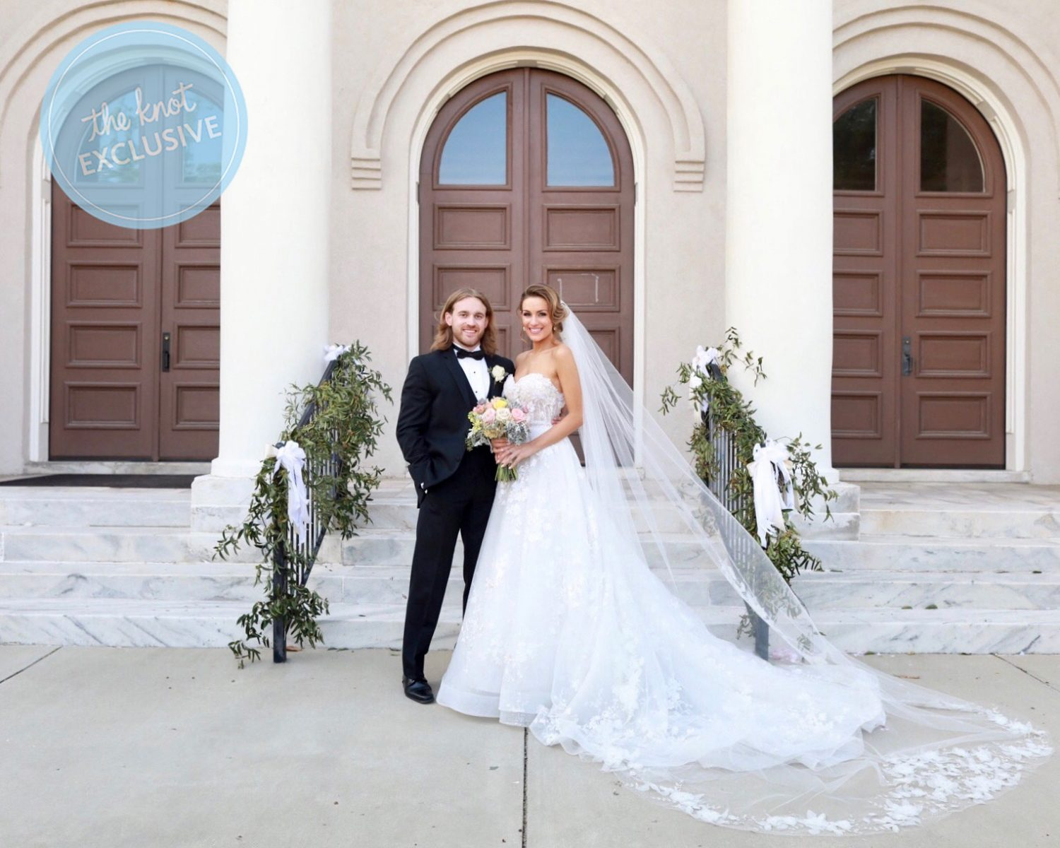 Betty Cantrell Miss America Wedding The Knot Exclusive