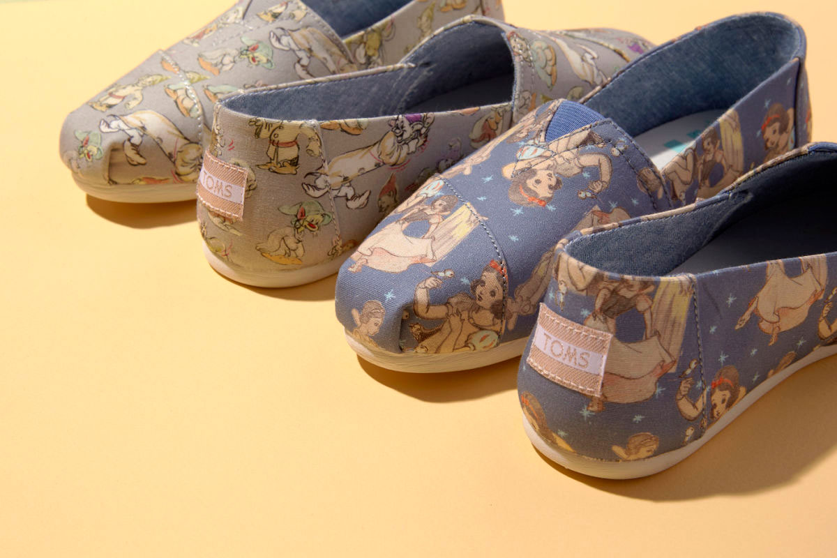 Disney And Toms Just Partnered Up For Princess Footwear