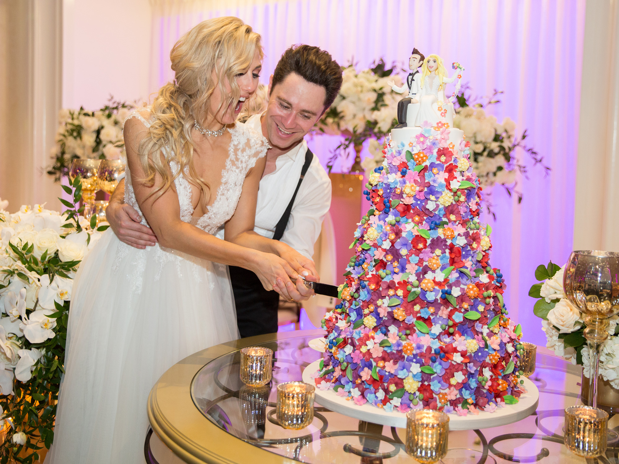 Emma Slater and Sasha Farber Share Their Complete Wedding ...