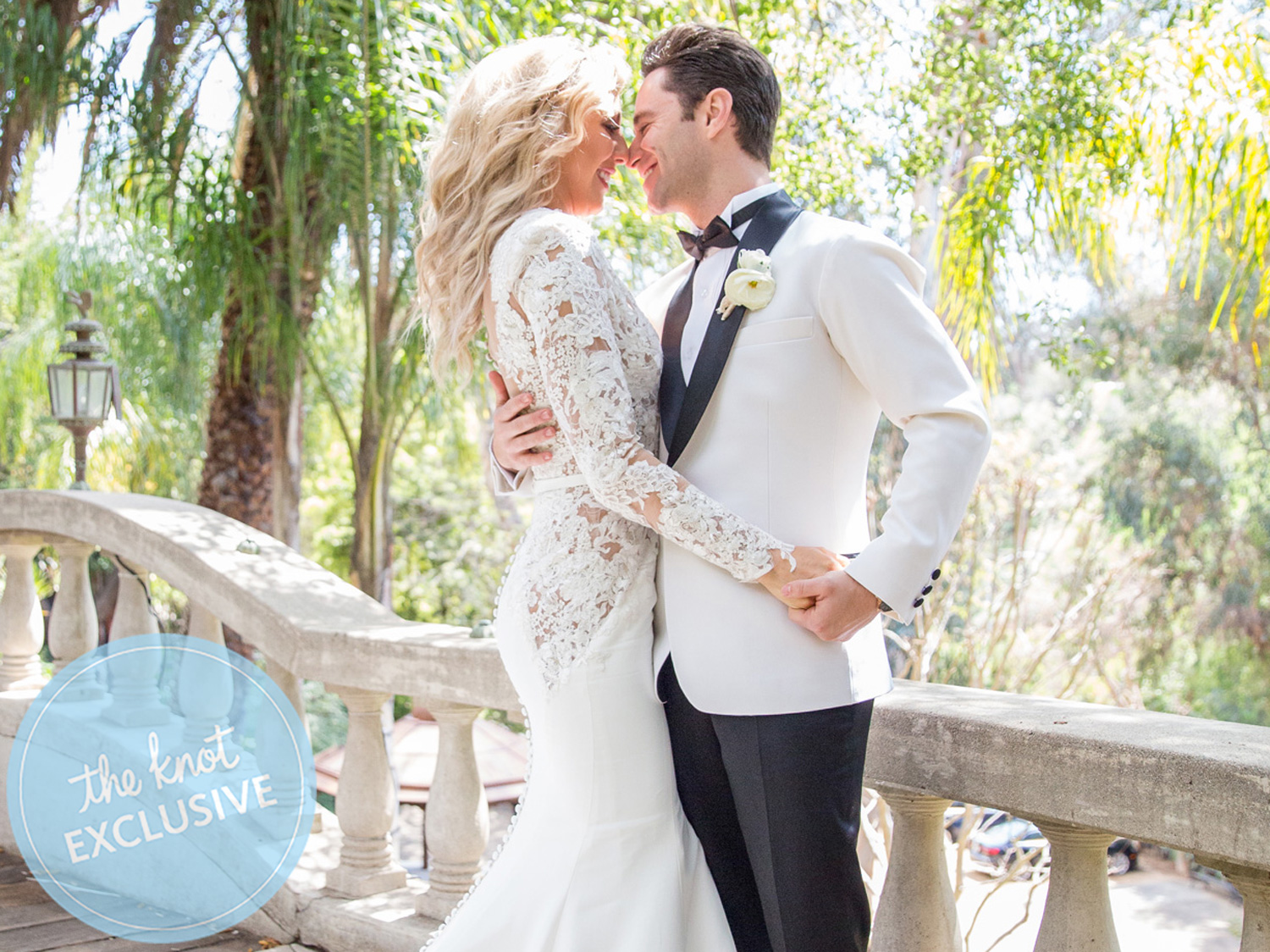 emma slater and sasha farber share their complete wedding