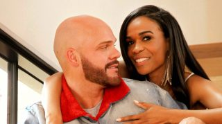 michelle williams chad johnson engagement ring