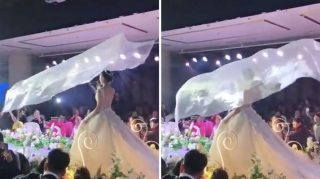 flying veil