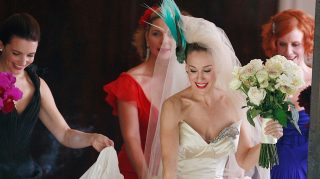 satc wedding dress