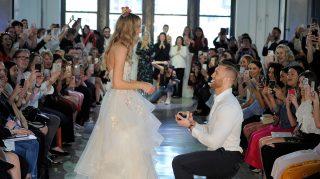 watters proposal bridal fashion week model